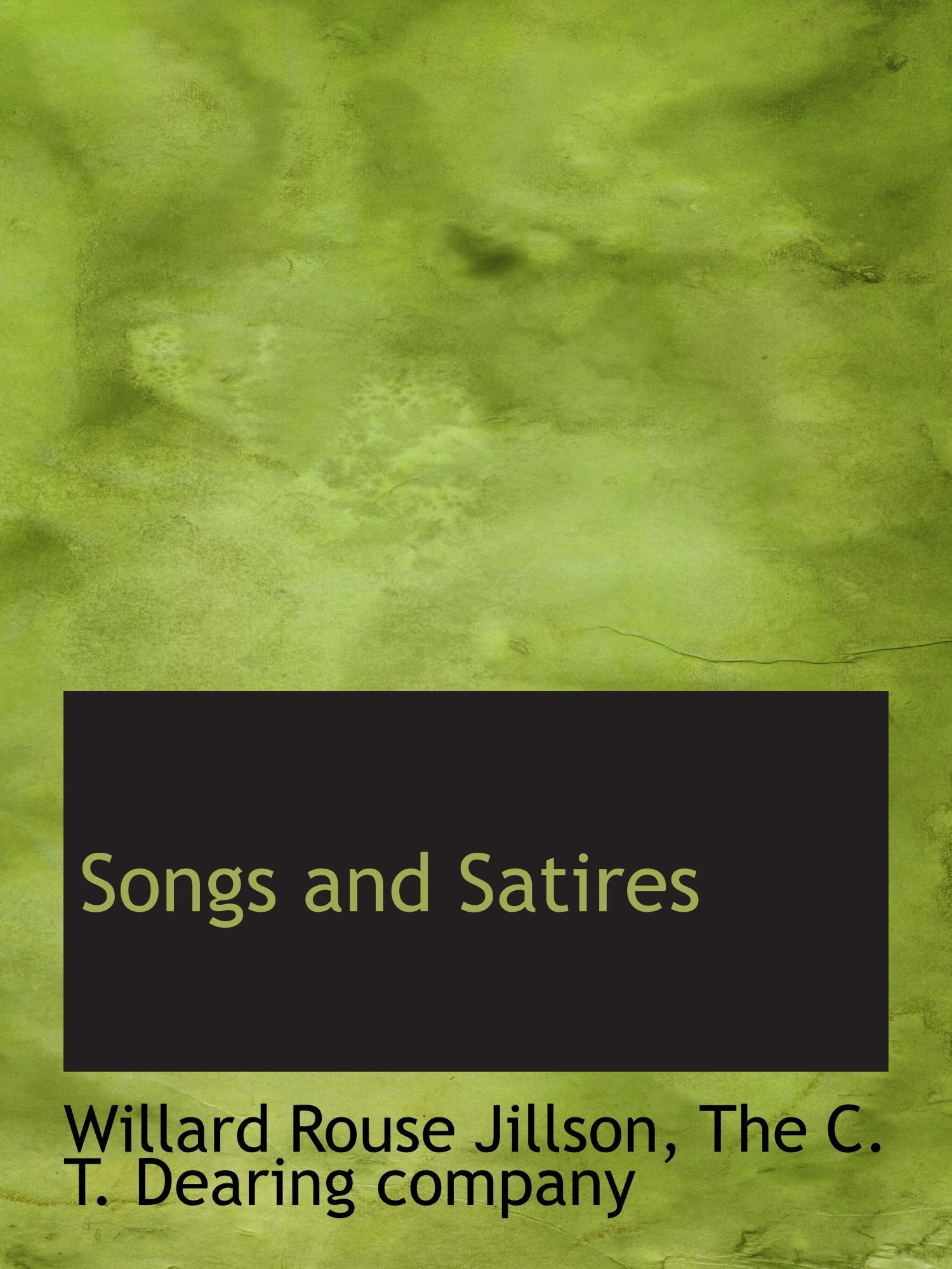 Download Songs and Satires pdf