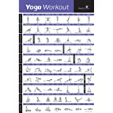 """YOGA POSE EXERCISE POSTER LAMINATED – Premium Instructional Beginner's Chart for Sequences & Flow - 70 Essential Poses - Sanskrit & English Names - Easy, View It & Do It! - 20""""x30"""""""