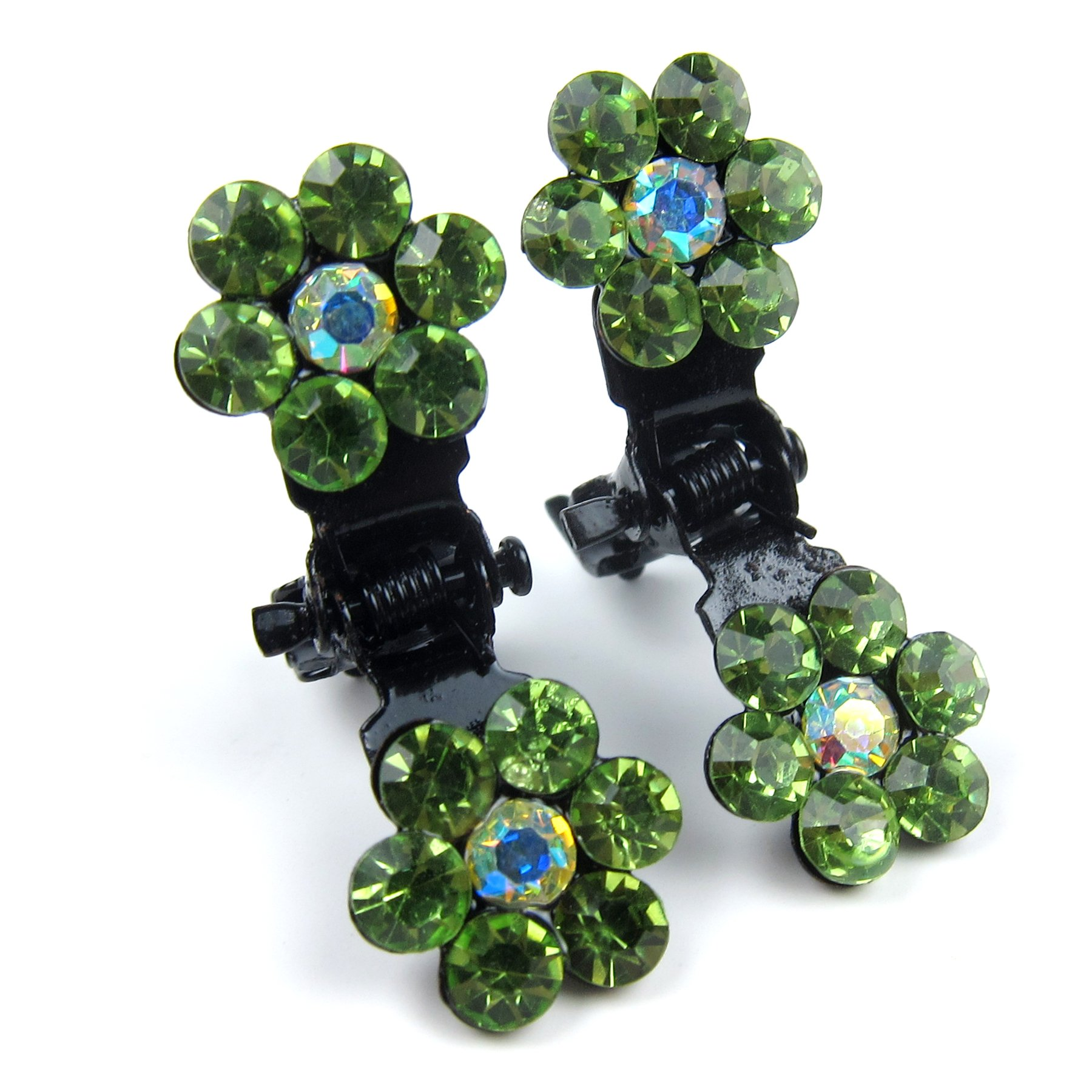Alfie Pet by Petoga Couture - Dasie Rhinestone Flower Hair Clip 20-Piece Set for Dogs, Cats and Small Animals by Alfie (Image #8)