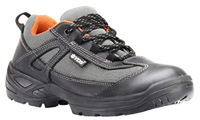 28001807e0b YDS Athletic Safety Shoes with Steel Toe   Work Shoe (Shoe has UK Sizes on  it)