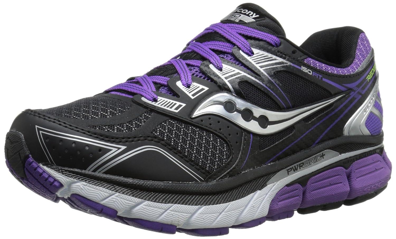 Saucony Women's Redeemer ISO Running Shoe B00PIWHWL0 6 W US|Black/Purple