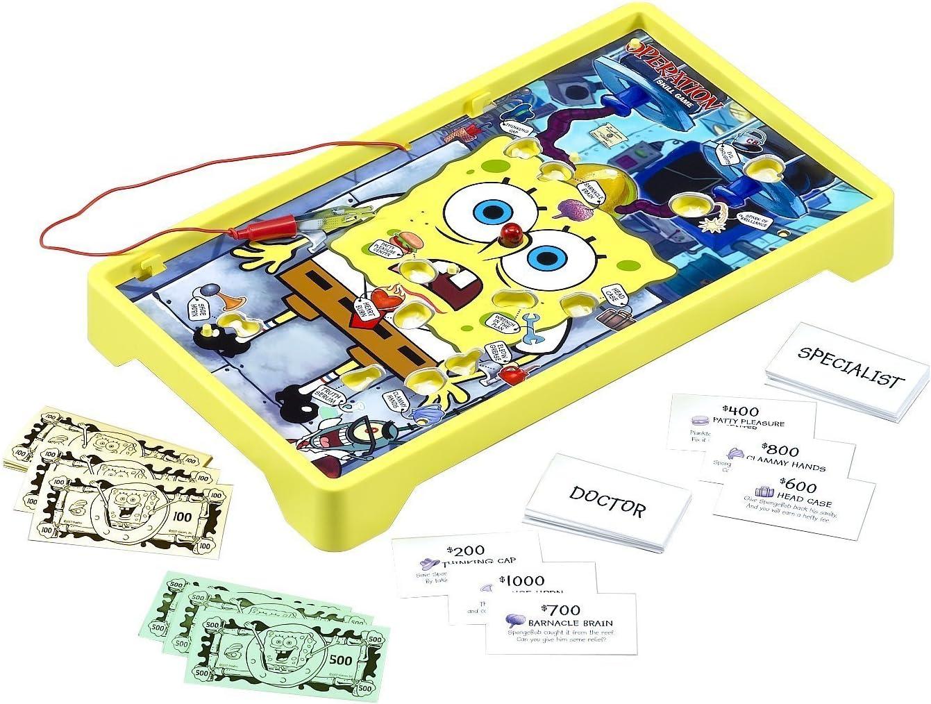 Bob lEponge Spongebob Squarepants Operation Game - Jeu de plateau: Amazon.es: Juguetes y juegos