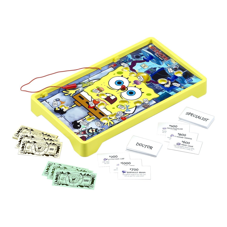 Amazon.com: Operation Spongebob Edition: Toys & Games