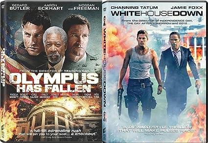 Amazon Com White House Down Olympus Has Fallen Action Bundle Dvd