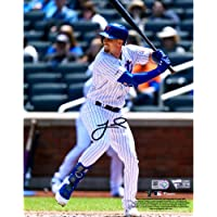 "$52 » Jeff McNeil New York Mets Autographed 8"" x 10"" Hitting Photograph - Fanatics Authentic Certified - Autographed MLB Photos"