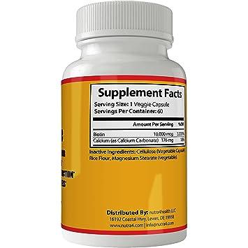 Vitaminas Para El Cabello Unas Y Piel | Tratamiento Para El Cabello Maltratado | Biotina Para el...