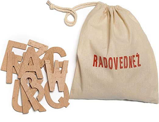 Radovednez 1.0269999999999999 Deutsches Alphabet Buchstaben: Amazon.de:  Spielzeug