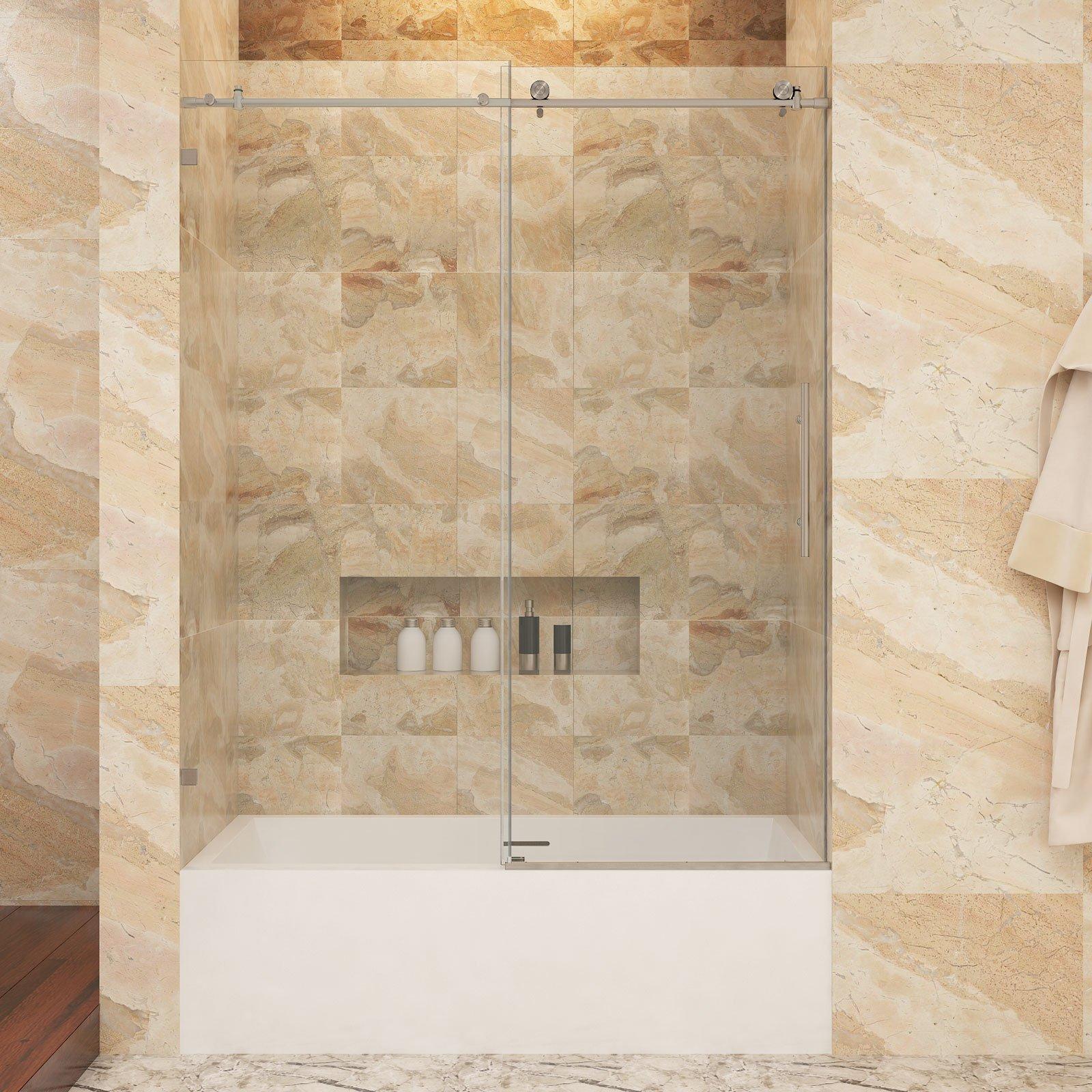 Best Rated In Bathtub Sliding Doors Helpful Customer Reviews