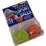 Marshall Ferret Sport Balls Asst, 2-Pack