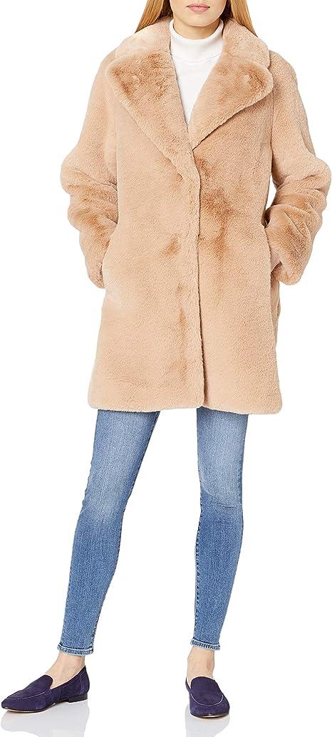 Amazon.com: Soia & Kyo Renada - Abrigo de piel sintética ...