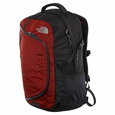 135a4cd2a55c Amazon.com  The North Face Hot Shot Backpack Ketchup Red Asphalt Grey  Shoes