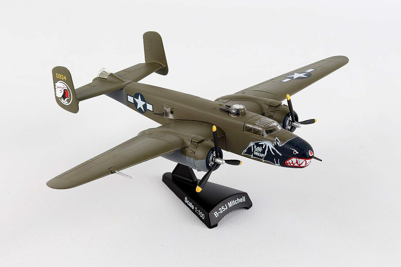 Daron Postage Stamp USAF B-25J Mitchell Betty's Dream Vehicle (1 100 Scale) by Daron