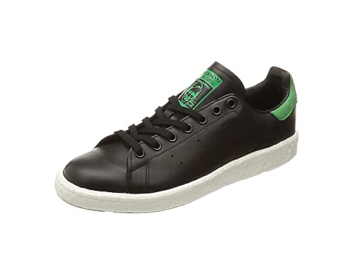hot sale online 28eca cb923 adidas Originals Stan Smith Boost Footwear Leather Black Mens Trainers  Sneaker Shoes