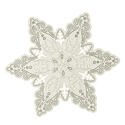 Amazon Com Christmas Snowflake Design Cutting Dies For Diy