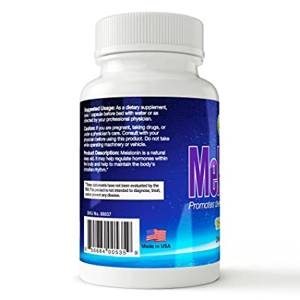 Amazon.com: J-BIO Melatonin 5mg Tablets-Helps Promote Relaxation and Sleep- Brain Health-120 Count- Fast Acting and Non-Habit Forming Sleep Aid: Health ...