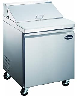 Amazoncom NEW Door Sandwich Prep Table Refrigerator Appliances - Sandwich prep table for sale