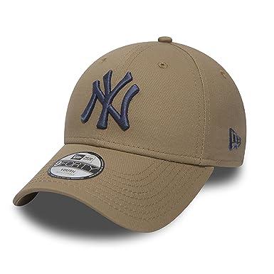 brand new f32cd 0e50a New Era 9Forty Junior League NY Cap Cap Base Cap (Youth (52-56 cm) -  Camel)  Amazon.co.uk  Clothing