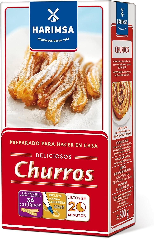 2 x 500 gr. Harimsa preparado para churros: Amazon.es ...