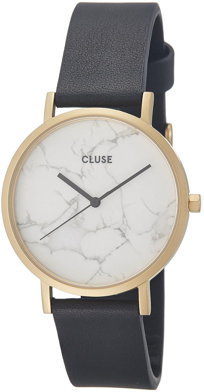 Cluse Unisex-Armbanduhr Analog Quarz Leder CL40003