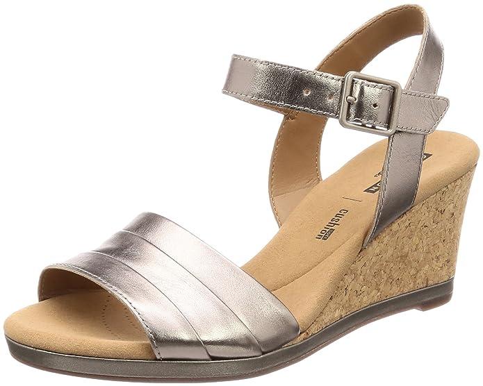 7c75ce6730f4 Clarks Women s s Lafley Aletha Ankle Strap Sandals  Amazon.co.uk  Shoes    Bags