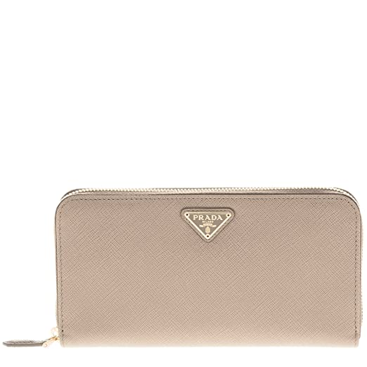 39dc54ea4a84ce ... norway image unavailable. image not available for. color prada saffiano  triangle zip around wallet