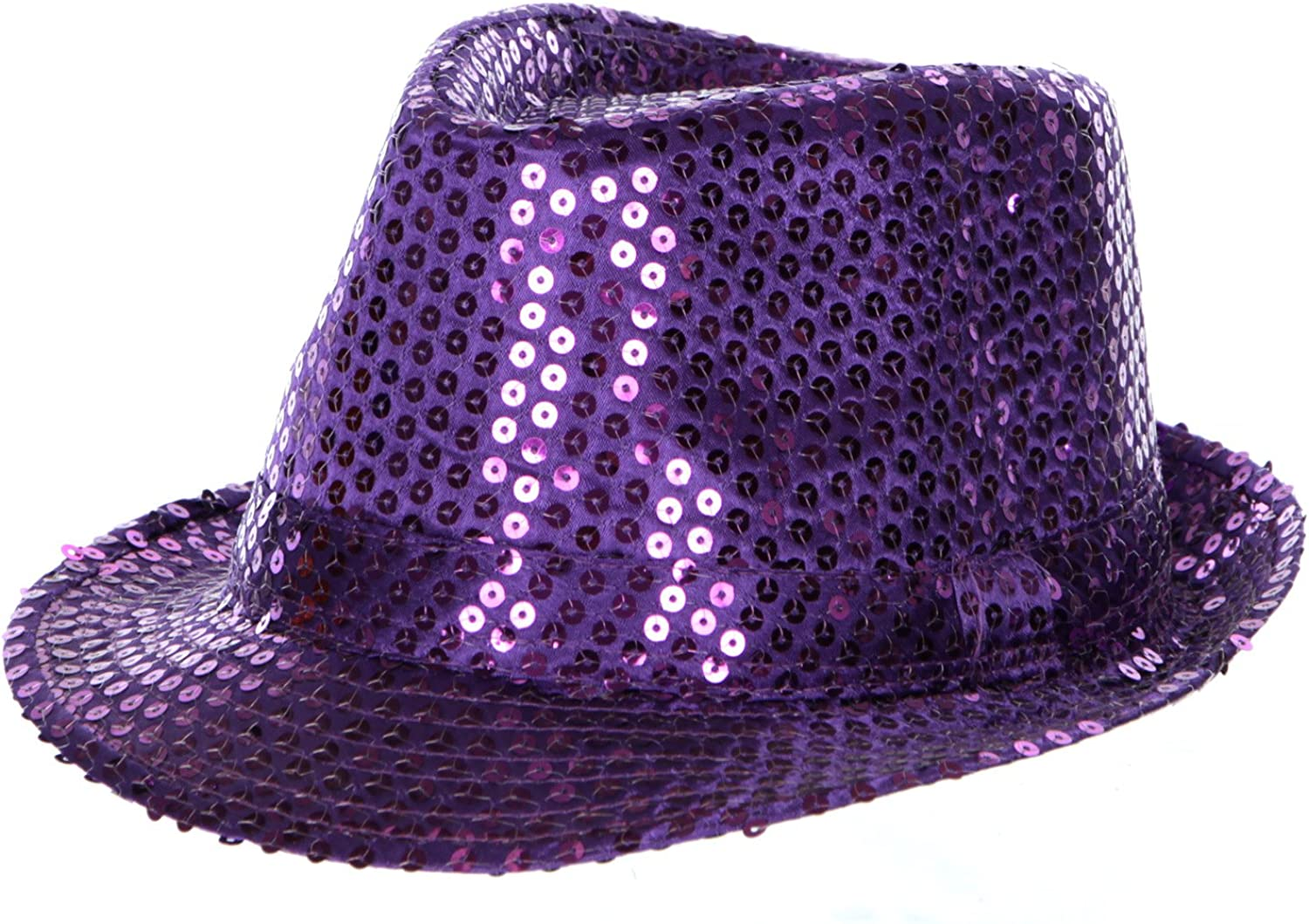 Fashion2100 Sequin Fedora Hat