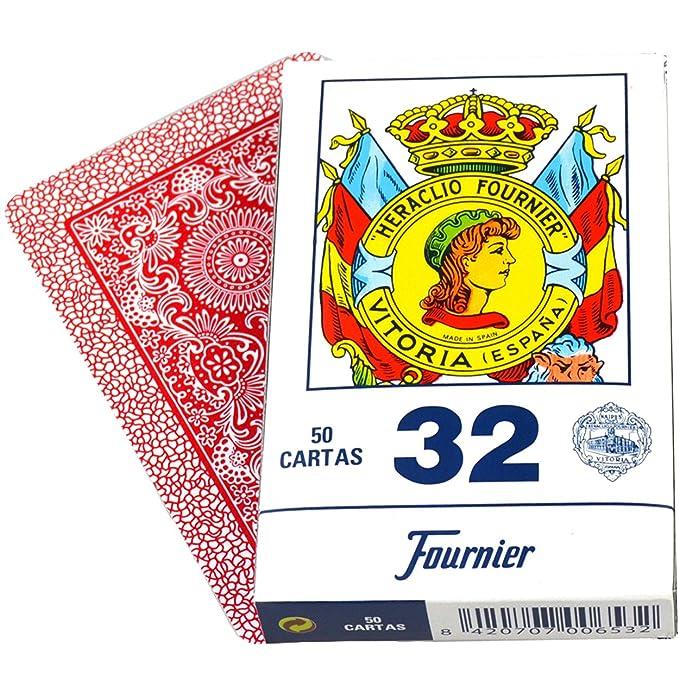 Naipes Fournier Deck of 50 Fournier Spanish Playing Cards Catalan Face #32 - Baraja Española Catalana
