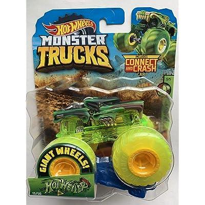 Hot Wheels 2020 Monster Trucks Giant Neon Wheels Hotweiler 1:64 Scale: Toys & Games
