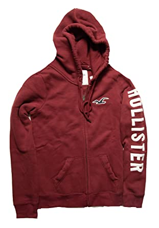cfcc271892 Amazon.com  Hollister Women s Lightweight Hoodie Sweatshirt  Clothing