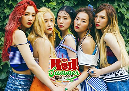 Amazon com: Fanstown Kpop RED Velvet Poster The RED Summer