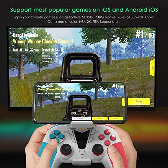 Amazon com: Mobile Game Controller for PUBG for Call of Duty