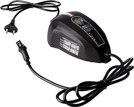BC 5000 EVO Caricabatteria digitale e tester di batteria e alternatore per tutte le batterie 12V piombo//acido di auto e moto CHARGE/&TEST 12V 5A//1A