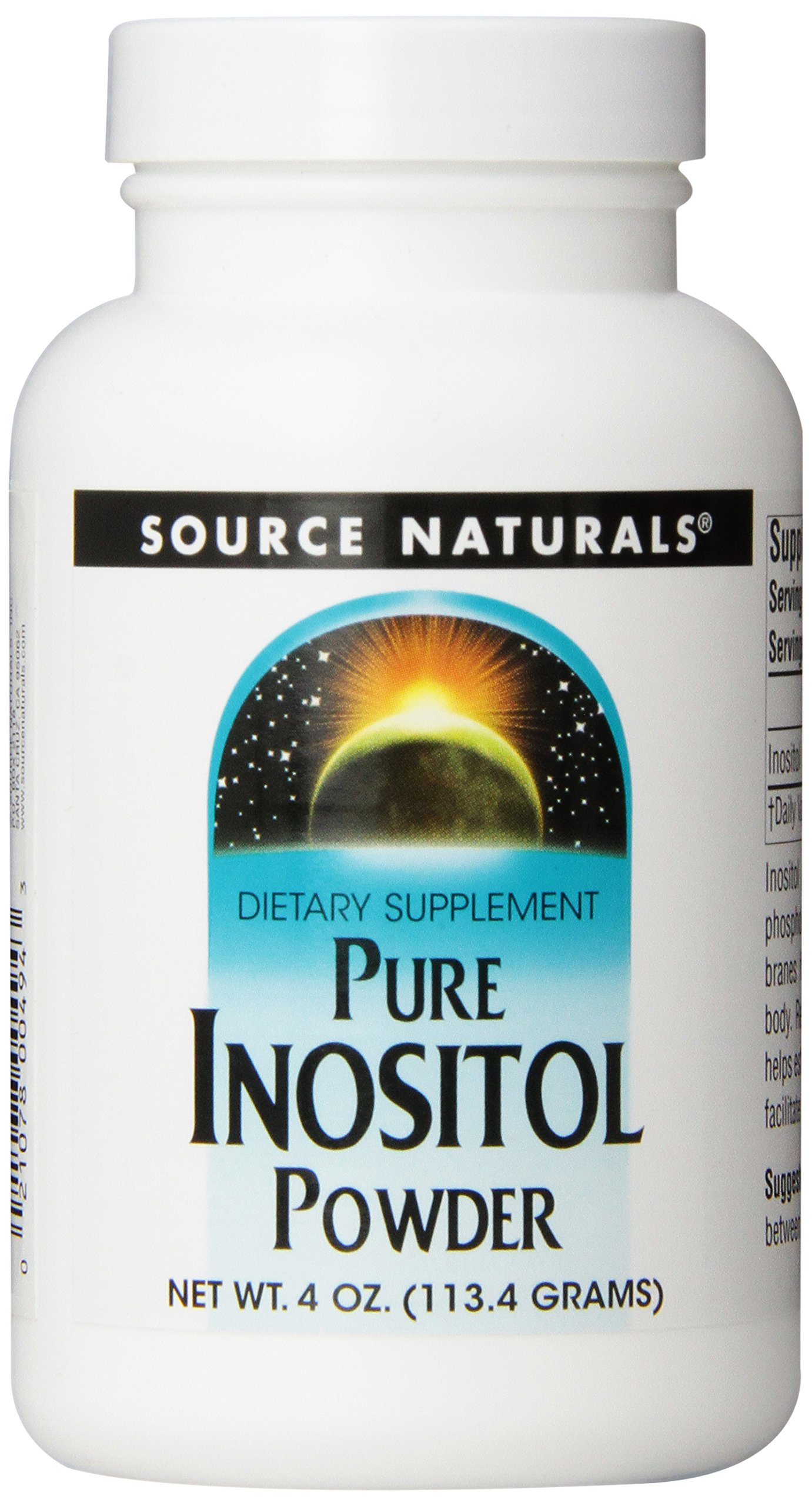Source Naturals Inositol Powder, 4 Ounce