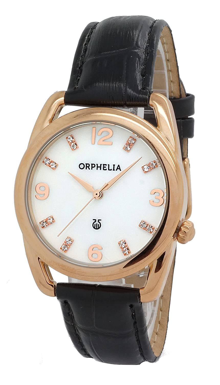 ORPHELIA Damen-Armbanduhr Analog Quarz Leder 153-1722-11