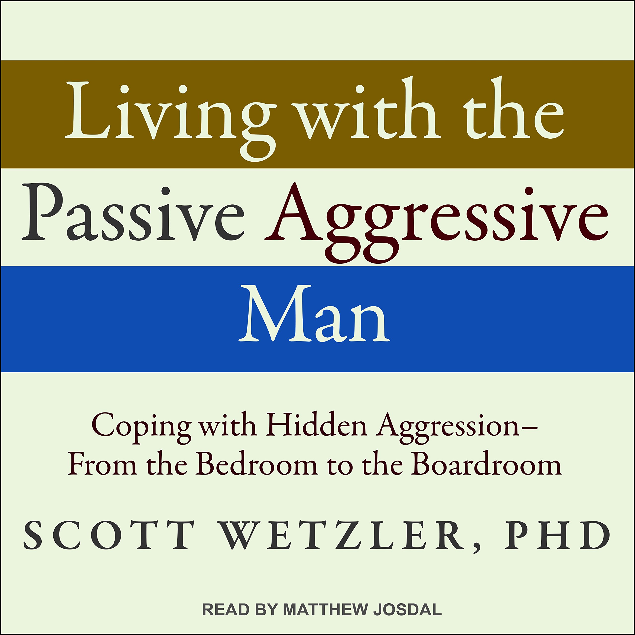 Living With the Passive-aggressive Man: Coping With Hidden Aggression -  from the Bedroom to the Boardroom: Amazon.co.uk: Scott, Ph.d.
