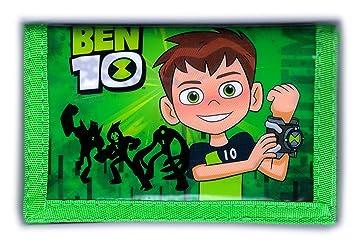 BEN 10 - Cartera monedero con monedero para niños - BEN10 ...