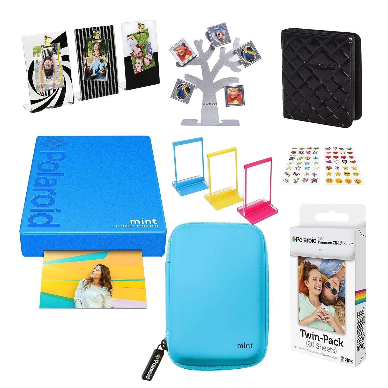 Polaroid Mint Impresora de Bolsillo Inalámbrica (Azul) Kit de ...