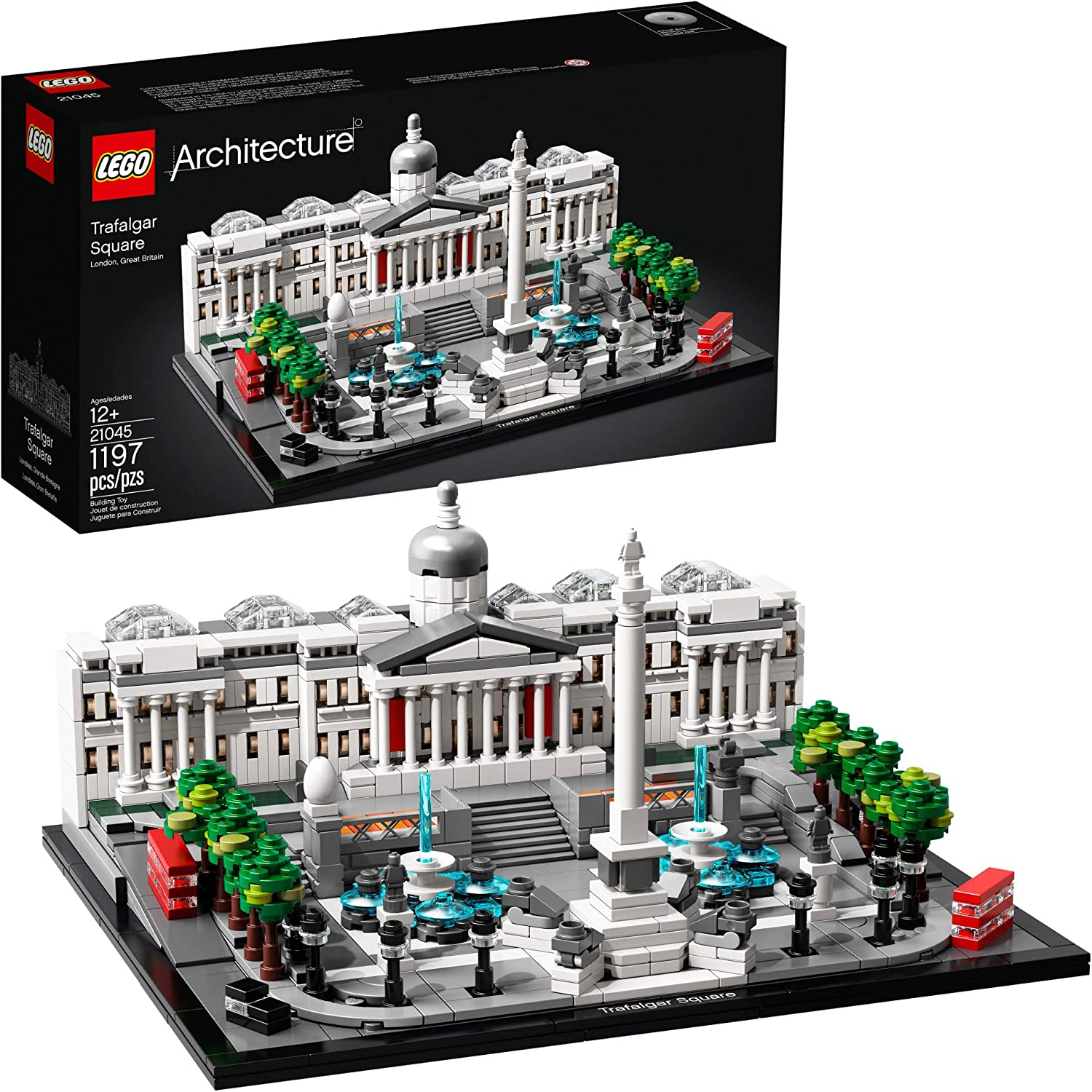 LEGO Architecture 21045 Trafalgar Square Building Kit (1197 Pieces)