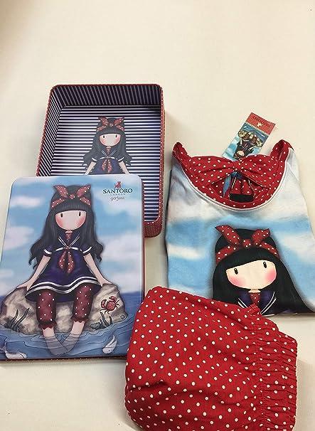 Pijama Mujer Verano Gorjuss - Little Fishes, M