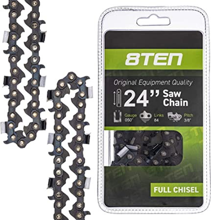 "24"" Chainsaw Chain 3//8"" .050 84 pitch 84 drive link Bar 24 72LGX084G Oregon"