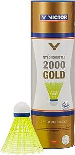 Victor Volants Shuttle 2000 » Volants badminton Multicolore (Blau/Gelb) Lot de 6 009/7/0