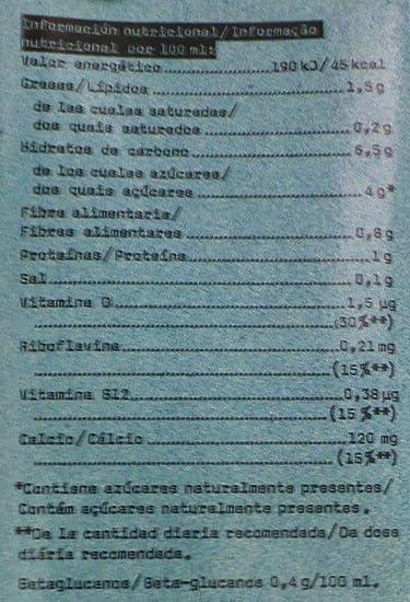 Oatly Bebida de Avena con Calcio - 1000 ml - [Pack de 2]: Amazon.es ...