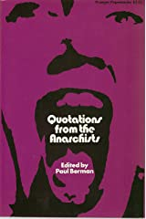 Quotations from the Anarchists Paperback