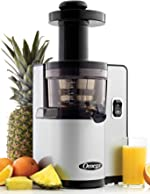 Omega VSJ843QS Vertical Slow Masticating Juicer Makes Continuous Fresh Fruit and