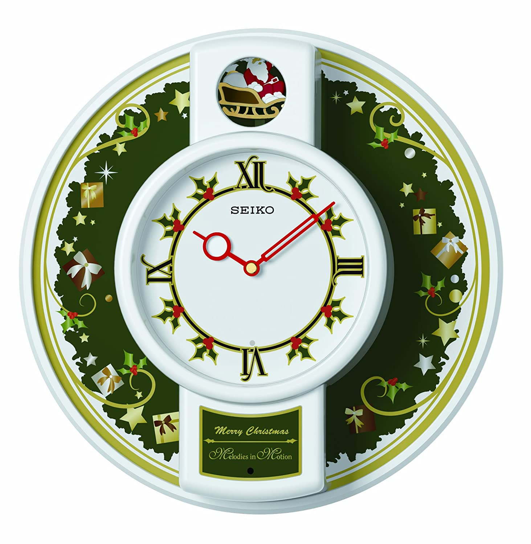 Amazon seiko qhm003wlh mini melody in motion clock home amazon seiko qhm003wlh mini melody in motion clock home kitchen amipublicfo Choice Image