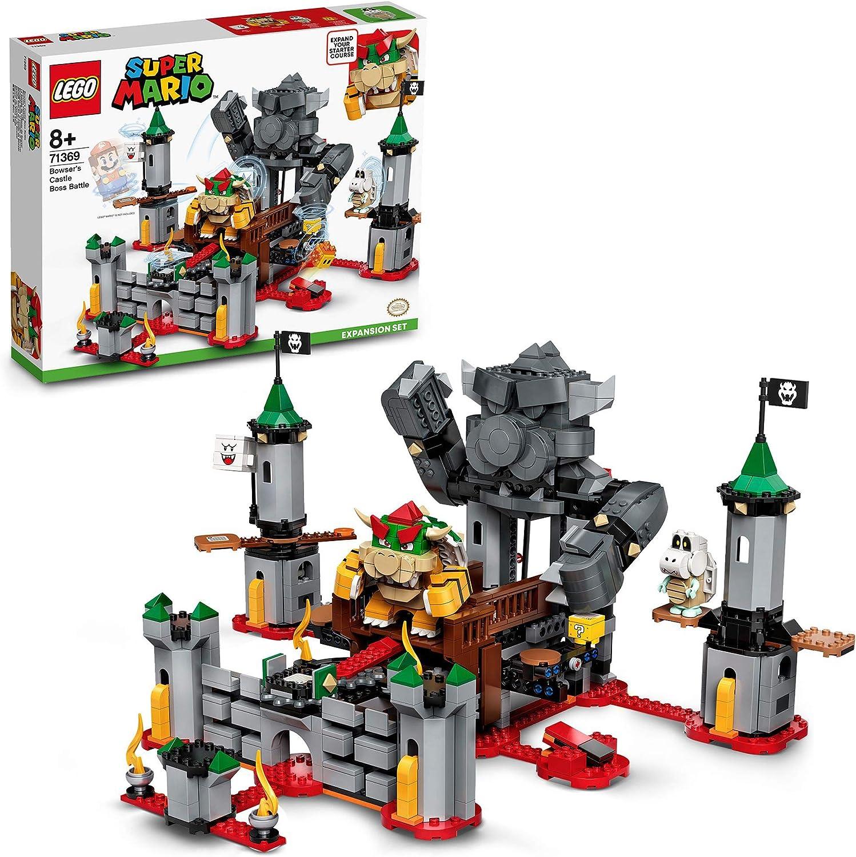 LEGO Super Mario Set de Expansión: Batalla Final en el Castillo de Bowser, Juguete de Construcción (71369)
