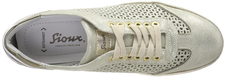 8.5 UK Matera//Corda 009 Sioux Womens Oxiria-702-XL Trainers Gold