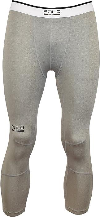 12027223ad Polo Sport Men's 3/4 Compression Tights (XS) at Amazon Men's ...