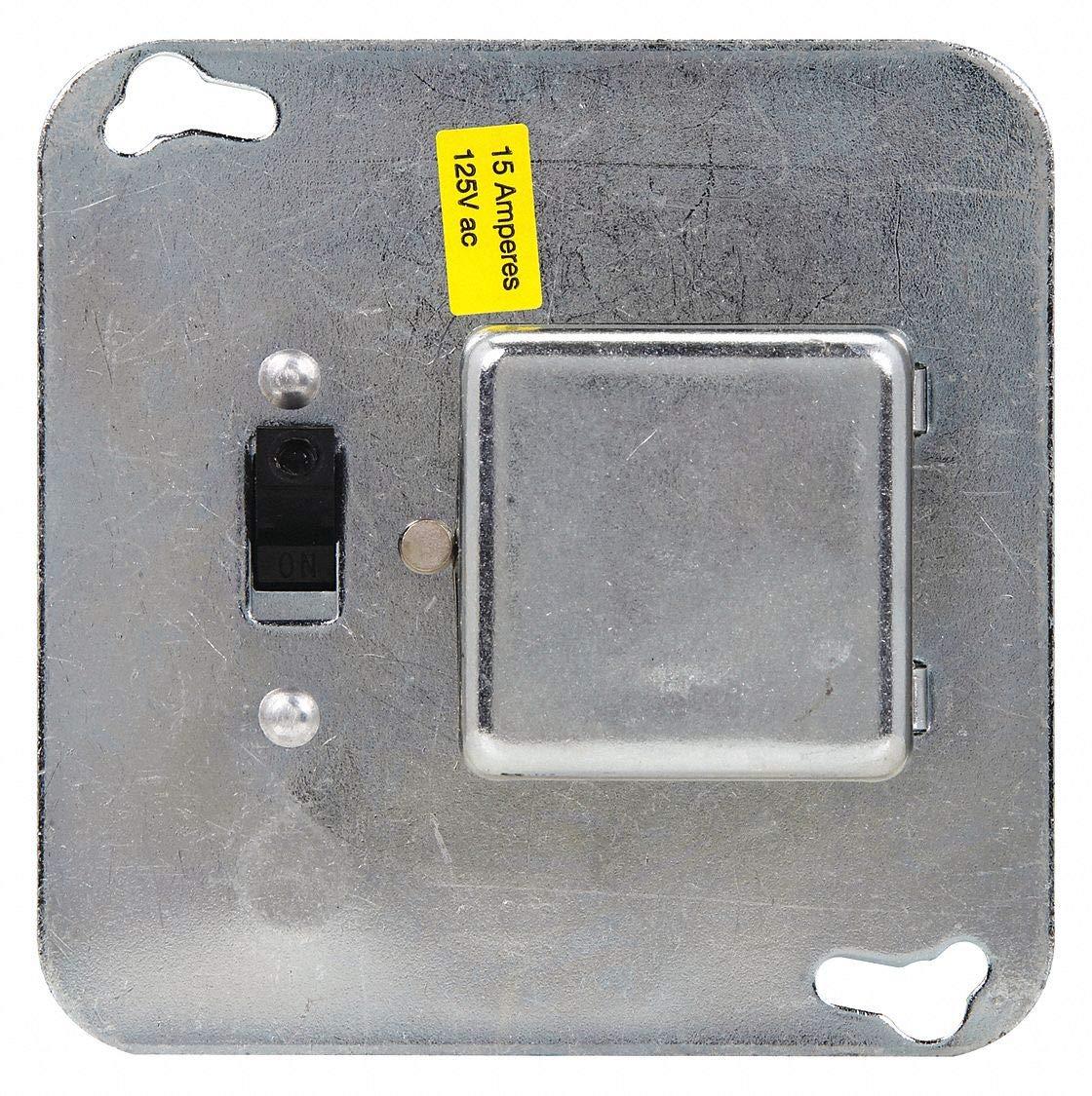 Eaton BUSSMANN Plug Fuse Box Cover Unit, 4