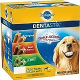 Pedigree DentaStix Dog Treats Variety Pack, 62 ct. (3.34 lbs.)